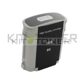HP C9396AE - Cartouche d'encre compatible noire 88 xl