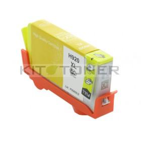 HP CD974AE - Cartouche d'encre compatible jaune 920XL