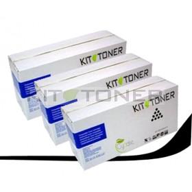 Kyocera TK330 - Pack de 3 cartouches de toner compatibles noir XXL