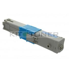 Oki 44973535 - Cartouche de toner cyan compatible
