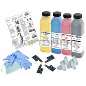 Dell 59310312, 59310315, 59310314, 59310313 - Kit de recharge toner compatible 4 couleurs
