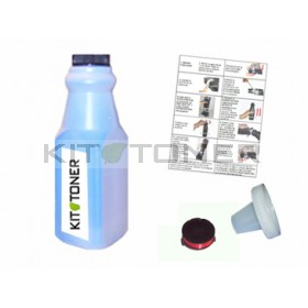 Epson S050189 - Kit de recharge toner compatible Cyan