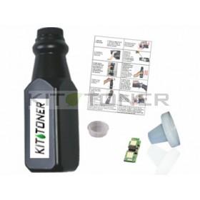 Konica 1710589004 - Kit de recharge toner compatible Noir