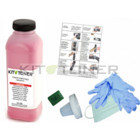 Oki 44973534 - Kit de recharge toner magenta compatible