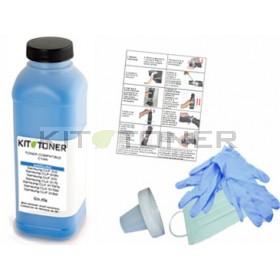 Oki 41963007 - Kit de recharge toner compatible Cyan