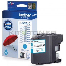 Brother LC225XLC - Cartouche d'encre cyan LC225XLC
