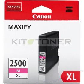 Canon PGI2500XLM - Cartouche encre origine magenta 9266B001