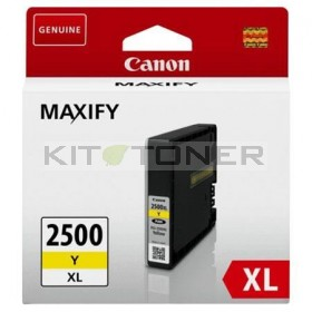 Canon PGI2500XLY - Cartouche encre origine jaune 9267B001
