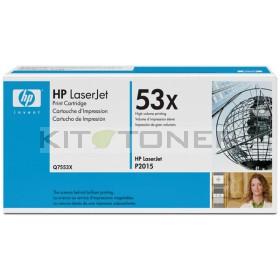 HP Q7553X - Cartouche de toner d'origine 53X