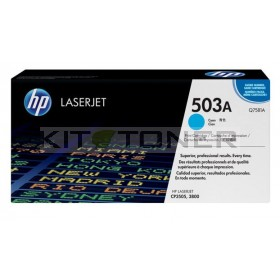 HP Q7581A - Cartouche de toner d'origine cyan