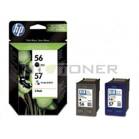 HP SA342AE - Pack de 2 cartouches d'encre HP 56 + 57