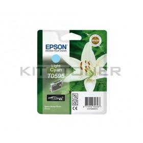 Epson C13T059540 - Cartouche d'encre cyan clair de marque T0595