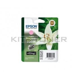 Epson C13T059640 - Cartouche d'encre magenta clair de marque T0596