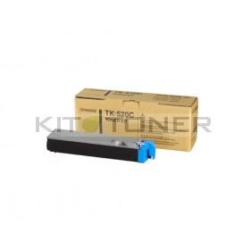 Kyocera TK520C - Cartouche de toner cyan original