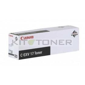 Canon 0262B002 - Cartouche toner d'origine noir CEXV17
