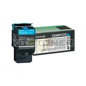 Lexmark 0C540H1CG - Cartouche toner cyan originale xl
