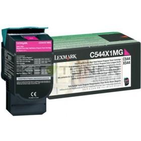 Lexmark 0C544X1MG - Cartouche toner magenta d'origine xxl