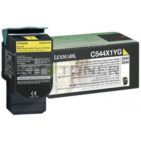 Lexmark 0C544X1YG - Cartouche toner jaune d'origine xxl