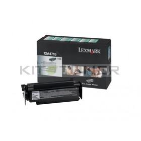 Lexmark 12A4715 - Cartouche de toner noir de marque