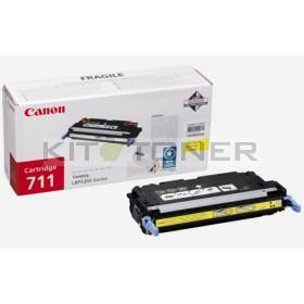 Canon 1657B002 - Cartouche toner d'origine jaune 711