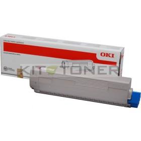 Oki 44844506 - Cartouche de toner magenta d'origine