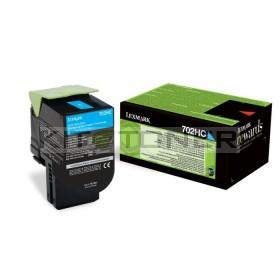 Lexmark 70C2XC0 - Toner de marque cyan