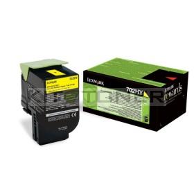 Lexmark 70C2XY0 - Toner de marque jaune