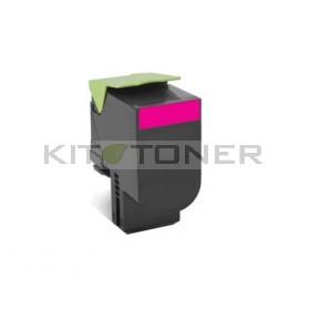 Lexmark 80C2XM0 - Toner magenta d'origine