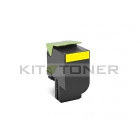 Lexmark 80C2XY0 - Toner jaune d'origine
