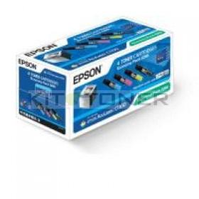 Epson S050268 - Pack de 4 toners d'origine