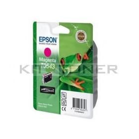 Epson C13T05434010 - Cartouche d'encre magenta originale T0543