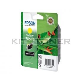 Epson C13T05444010 - Cartouche d'encre jaune originale T0544
