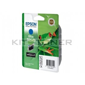 Epson C13T05494010 - Cartouche d'encre bleu originale T0549
