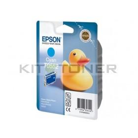 Epson C13T05524010 - Cartouche d'encre cyan originale T0552