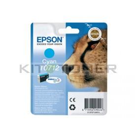 Epson C13T07124011 - Cartouche d'encre Durabrite cyan T0712
