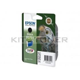 Epson C13T07914010 - Cartouche d'encre Epson Claria noire T0791