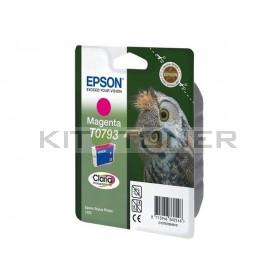 Epson C13T07934010 - Cartouche d'encre Epson Claria magenta T0793