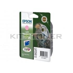 Epson C13T07964010 - Cartouche d'encre Epson Claria magenta clair T0796