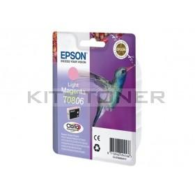 Epson C13T08064011 - Cartouche d'encre Epson Claria magenta clair T0806