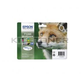 Epson C13T12854011 - Pack combo de 4 cartouches d'encre de marque T1285