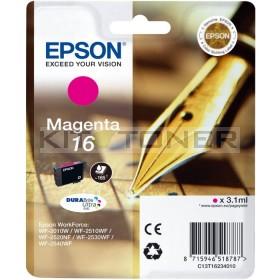 Epson C13T16234010 - Cartouche d'encre magenta d'origine T1623