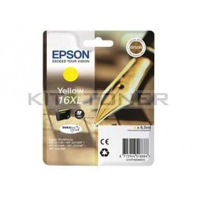 Epson C13T16344010 - Cartouche d'encre jaune d'origine T1634