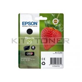 Epson C13T29814010 - Cartouche d'encre noir 29 d'origine