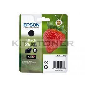 Epson C13T29914010 - Cartouche d'encre noir 29XL d'origine