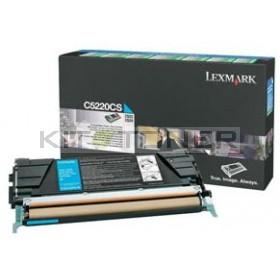 Lexmark C5220CS - Cartouche toner d'origine cyan