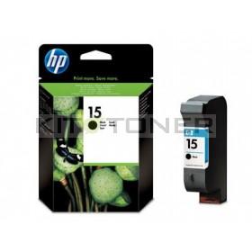 HP C6615D - Cartouche d'encre noire origine HP 15
