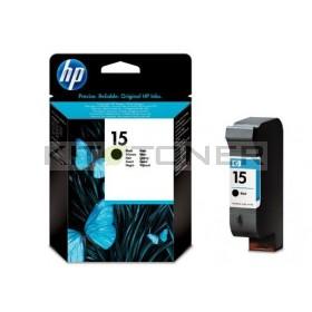 HP C6615N - Cartouche d'encre noire de marque HP 15