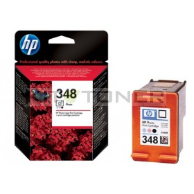 HP C9369AE - Cartouche d'encre photo d'origine 348 photo
