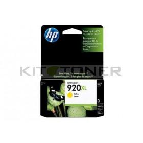 HP CD974AE - Cartouche d'encre originale jaune 920XL