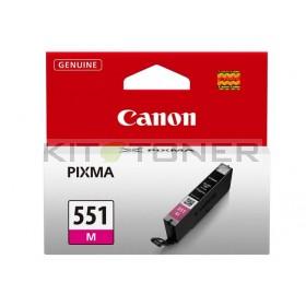 Canon CLI551M - Cartouche d'encre magenta de marque 6510B001